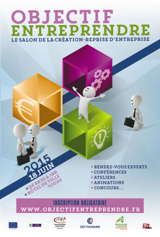 Objectif entreprendre le salon de la cr ation reprise d for Salon creation entreprise