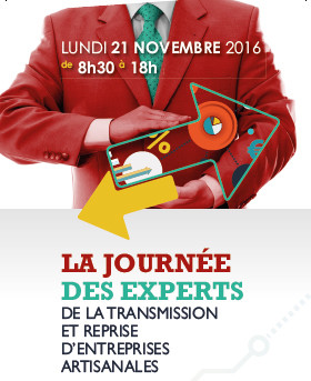 Journée de la transmission reprise d'entreprises (Haute-Garonne – 21/11/16)