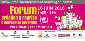 Mois de la Création / Reprise d'Entreprise en Auvergne