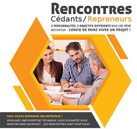Rencontres cédants / repreneurs (Clermont-Fd - 11 avril 2017)