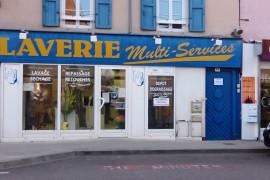 A reprendre fonds de commerce LAVERIE MULTISERVICES axe CHATILLON sur CHALARONNE / BELLEVILLE sur SAONE