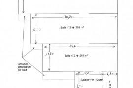 plan des bâtiments