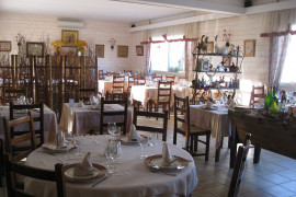 Une des salles de restaurant
