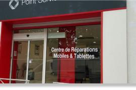Devanture de Point Service Mobile