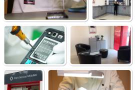 centre de réparation smartphones, tablettes...