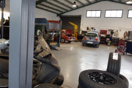 Garage Piquéras atelier 3