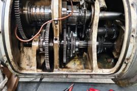 reparation boite avance HURON