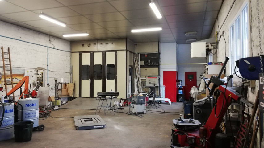 A reprendre fonds de commerce MECANIQUE et CARROSSERIE à BOURG en BRESSE