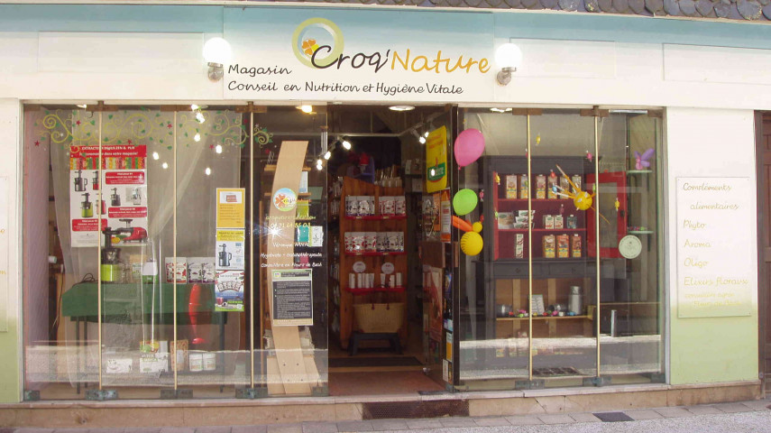 a vendre commerce de produits bio aurillac (cantal)
