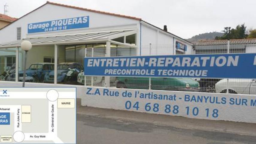 Garage Piquéras devanture