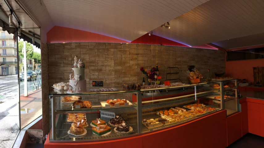 Perpignan vitrine ext Pâtisserie Long B