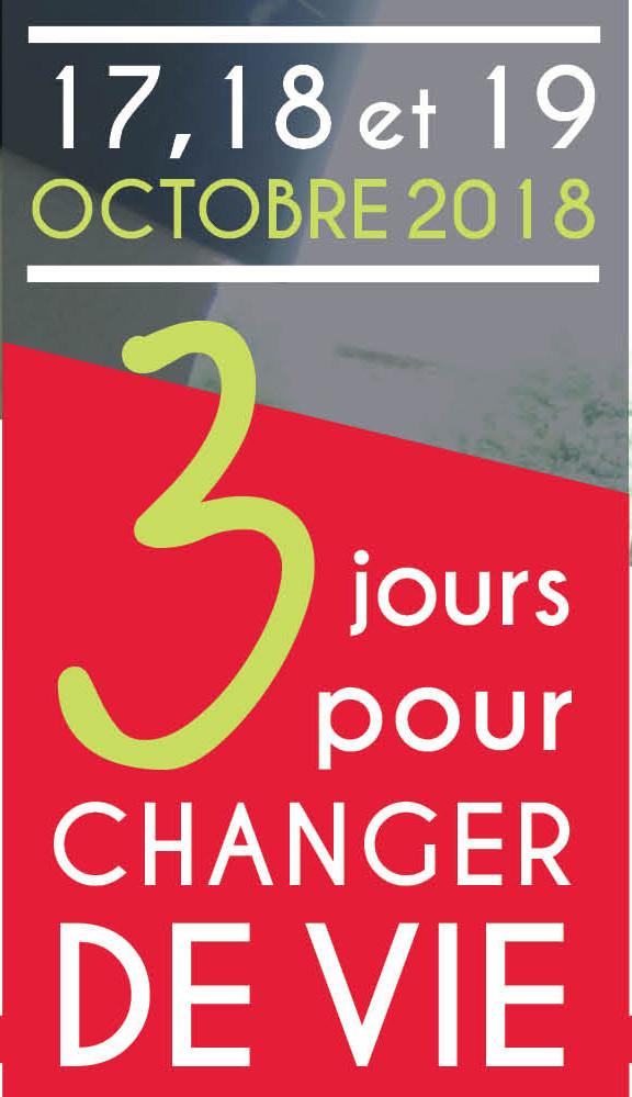 3 jours pour CHANGER DE VIE (Cantal)