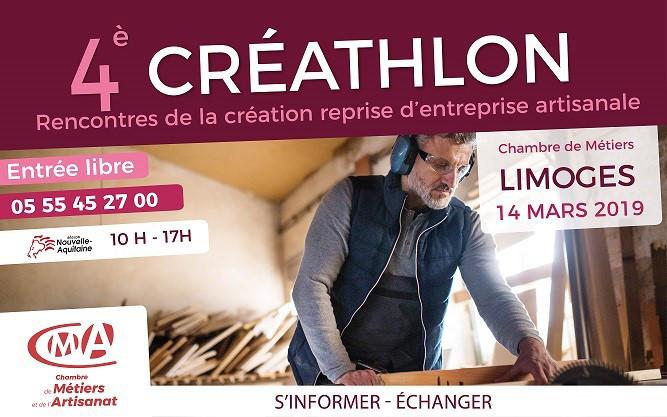 Créathlon (Limoges - 14 mars)