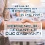 Repreneur-Cédant : le DUO Gagnant (Webinaire 27 nov. 2020 - 18h30/19h30