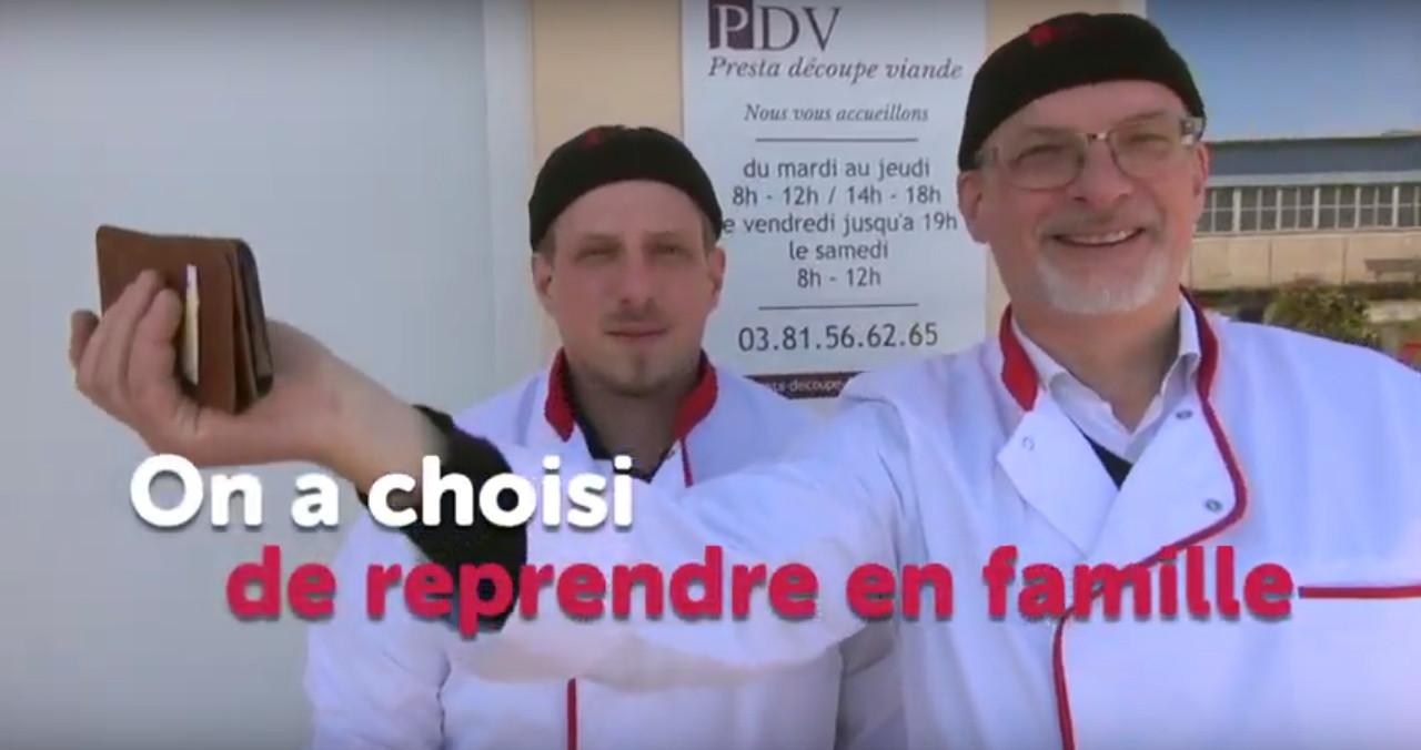 On a choisi de reprendre en famille (Boussières - Doubs)